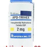 Thuốc apo trihex 2mg có tác dụng gì? giá bao nhiêu? mua ở đâu?