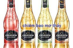 Strongbow là bia hay rượu? có mấy loại? giá bao nhiêu tiền? mua ở đâu?
