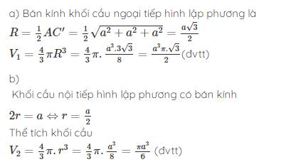 Công thức tính diện tích - thể tích khối cầu chuẩn nhất là gì?