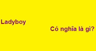 Ladyboy có nghĩa là gì? có chym không?